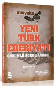 Yönerge Minyatür KPSS ÖABT Yeni Türk Edebiyatı Tamamı Çözümlü Soru Bankası 2019