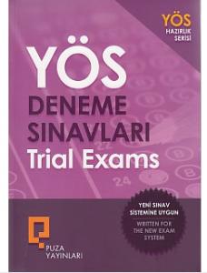 YÖS Deneme Sınavları Trial Exams - Puza Yayınları