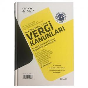 Yürürlükteki Türk Vergi Kanunları - Gelirler Kontrolörleri Derneği Yayınları