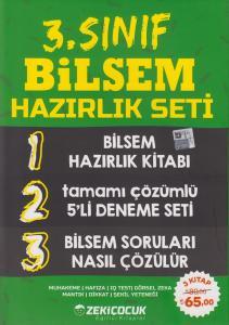 Zeki Çocuk Yayınları 3. Sınıf BİLSEM Hazırlık Seti