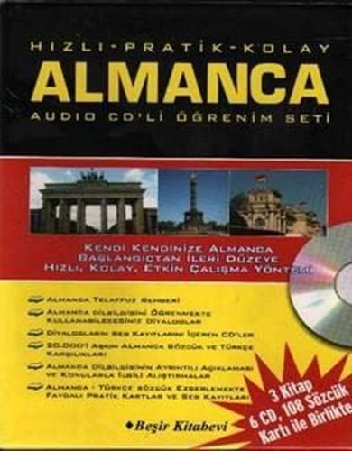 Beşir Hızlı Pratik Kolay Almanca Audio CD li Öğrenme Seti