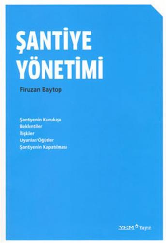 Şantiye Yönetimi %20 indirimli Firuzan Baytop