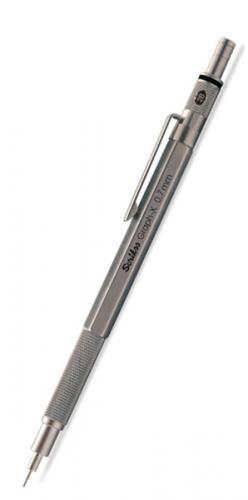 Scrikss Graph-X Metal Versatil 0,7 mm Kurşun Gri