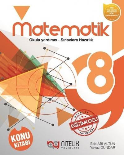 Nitelik Yayınları 8. Sınıf Matematik Konu Kitabı Komisyon