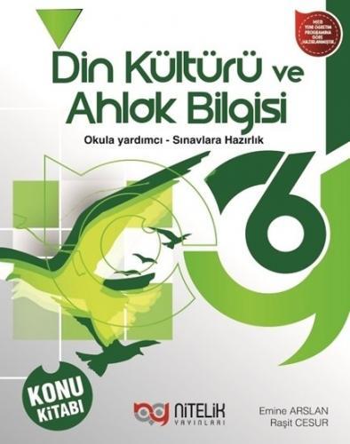 Nitelik Yayınları 6. Sınıf Din Kültürü ve Ahlak Bilgisi Konu Kitabı Ko