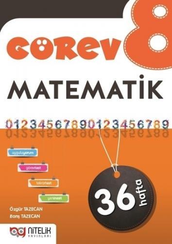 Nitelik Yayınları 8. Sınıf Matematik Görev Çalışma Föyleri Komisyon
