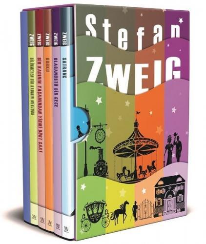 Stefan Zweig Seti - 5 Kitap Takım Kutulu