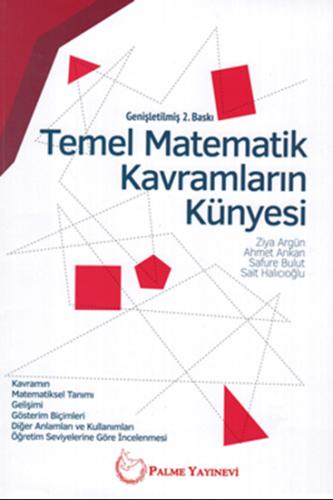 Temel Matematik Kavramların Künyesi Palme Yayınları %15 indirimli Ziya