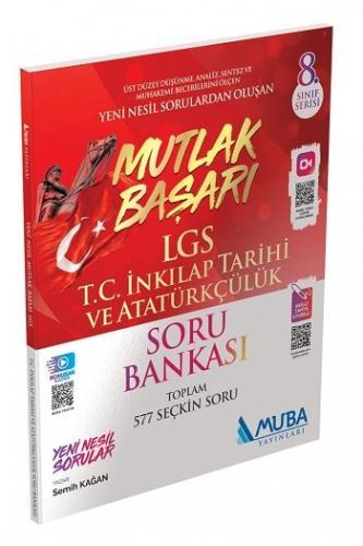 Muba Yayınları 8. Sınıf LGS Mutlak Başarı T.C. İnkılap Tarihi ve Atatürkçülük Soru Bankası