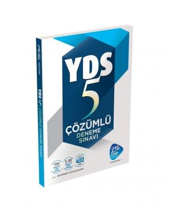 MeToo Publishing YDS Çözümlü 5 Deneme Sınavı %25 indirimli Ercüment Ce