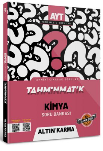 Altın Karma Yayınları AYT Kimya Tahminmatik Soru Bankası Komisyon