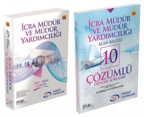 Murat Yayınları 2019 İcra Müdür ve Yardımcılığı Hazırlık Kitabı + 10 D