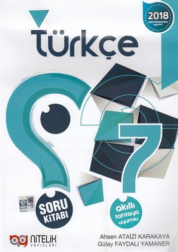 Nitelik 7. Sınıf Türkçe Soru Kitabı