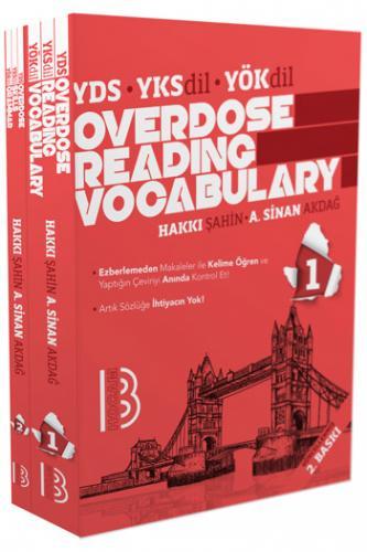 Benim Hocam YDS Overdose Reading Vocabulary Skills %35 indirimli Hakkı