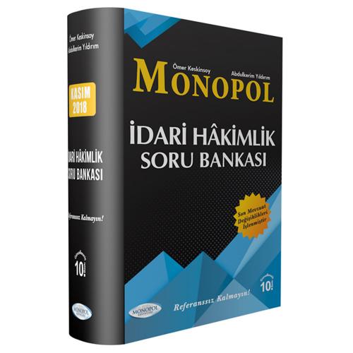 Monopol İdari Hakimlik Referans Soru Bankası