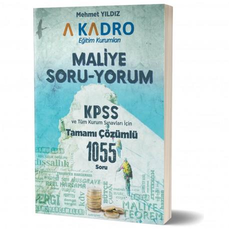 A Kadro Maliye Soru Yorum Soru Bankası 2019 %25 indirimli Mehmet Yıldı