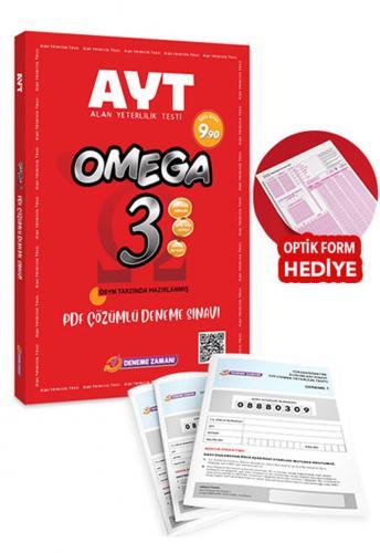 Omega AYT 3 Deneme Pdf Çözümlü Deneme Sınavı