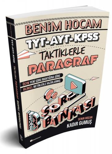 Benim Hocam Yayınları TYT AYT KPSS Taktiklerle Paragraf Soru Bankası