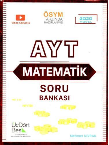 ÜçDörtBeş YKS AYT Matematik Soru Bankası