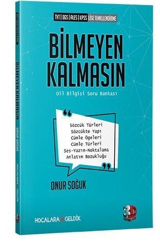 Çözüm TYT DGS ALES KPSS Bilmeyen Kalmasın Dil Bilgisi Soru Bankası %35
