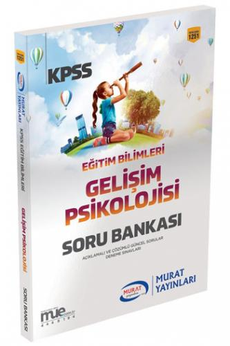 Murat KPSS Eğitim Bilimleri Gelişim Psikolojisi Soru Bankası