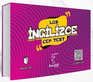 Karekök Yayınları 8. Sınıf LGS İngilizce Cep Test %40 indirimli Komisy