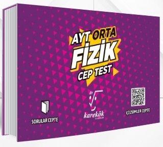 Karekök Yayınları AYT Fizik Orta Cep Test