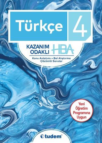 Tudem 4. Sınıf Türkçe Kazanım Odaklı HBA