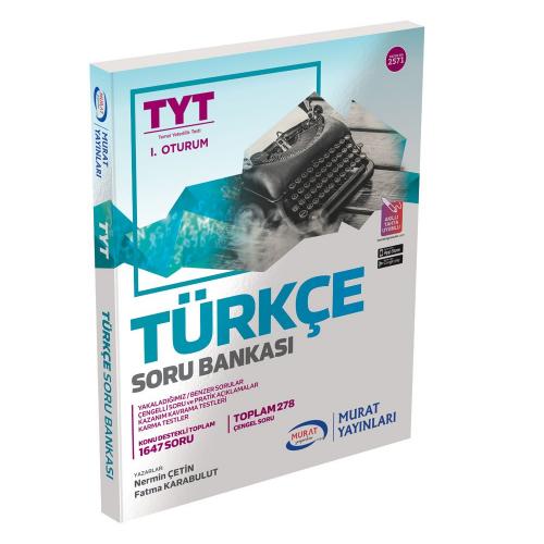 Murat Eğitim YKS TYT 1. Oturum Türkçe Soru Bankası