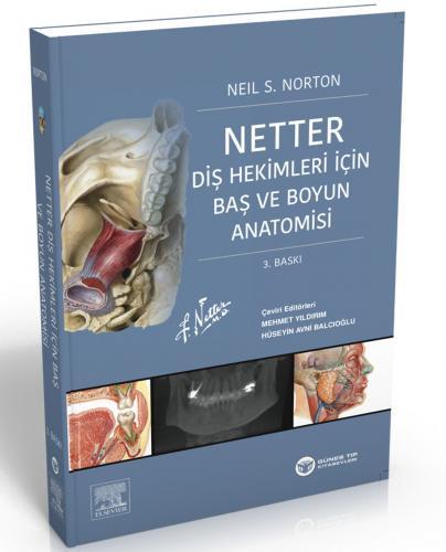 Güneş Tıp Netter Diş Hekimleri için Baş ve Boyun Anatomisi