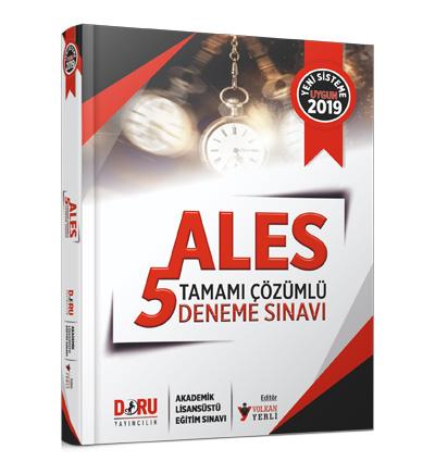 Doru ALES Tamamı Çözümlü 5'li Deneme Sınavı Komisyon