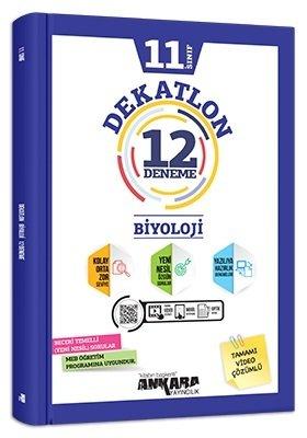Ankara Yayıncılık 11. Sınıf Biyoloji Dekatlon 12 Deneme Komisyon