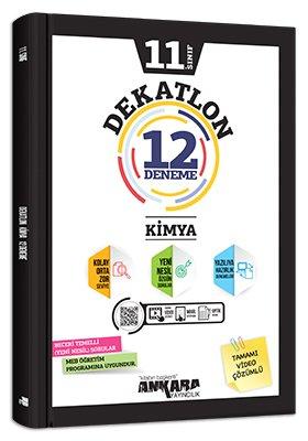 Ankara Yayıncılık 11. Sınıf Kimya Dekatlon 12 Deneme Komisyon
