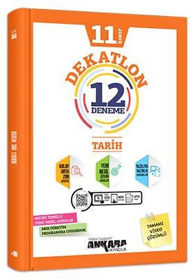 Ankara Yayıncılık 11. Sınıf Tarih Dekatlon 12 Deneme Komisyon