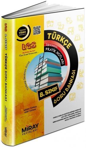 Miray Yayınları 8. Sınıf LGS Türkçe Öğretmenin Pratik Notları Soru Ban