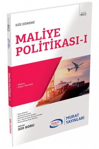Murat 4. Sınıf 7. Yarıyıl Maliye Politikası - I Kod 9012