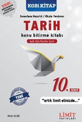 Limit 10. Sınıf Tarih Konu Bitirme Kitabı