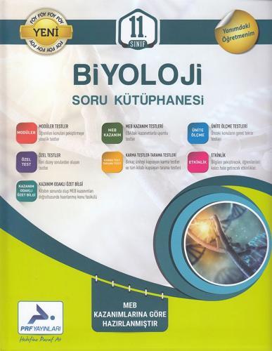 PRF 11. Sınıf Biyoloji Soru Kütüphanesi