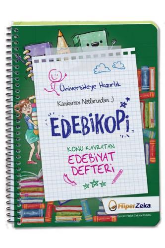 Hiper Zeka Yayınları Konu Kavratan AYT Edebiyat Defteri Edebikopi