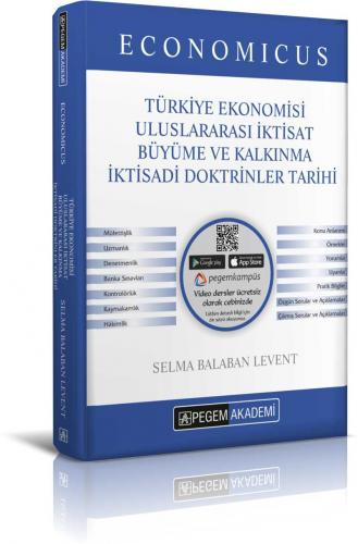 Pegem KPSS A Economicus Türkiye Ekonomisi, Uluslararası İktisat, Büyüme ve Kalkınma, İktisadi Doktrinler Tarihi Konu Anlatımı 2019