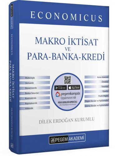 Pegem Yayınları 2020 KPSS A Grubu Economicus Makro İktisat ve Para-Ban