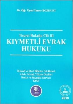 Kıymetli Evrak Hukuku (Roman Boy) Tamer Bozkurt
