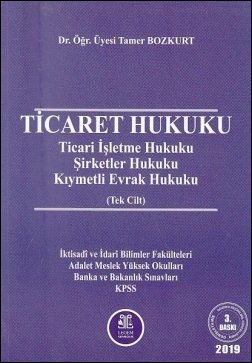 Ticaret Hukuku (Roman Boy)   Tamer Bozkurt