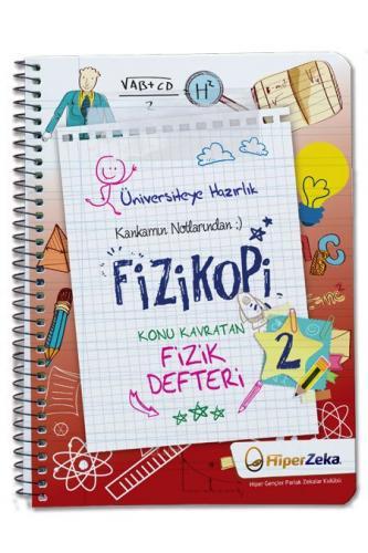 Hiper Zeka Yayınları  Konu Kavratan AYT Fizik 2 Defteri Fizikopi