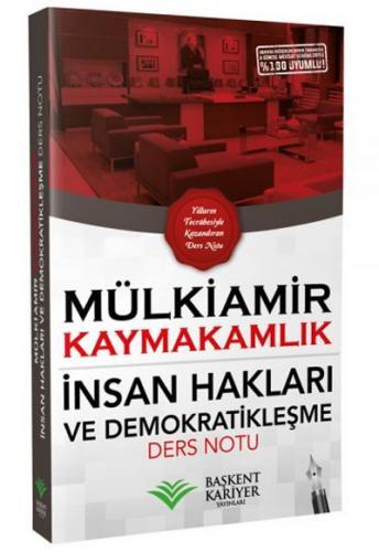 Mülkiamir Kaymakamlık İnsan Hakları ve Demokratikleşme Ders Notu