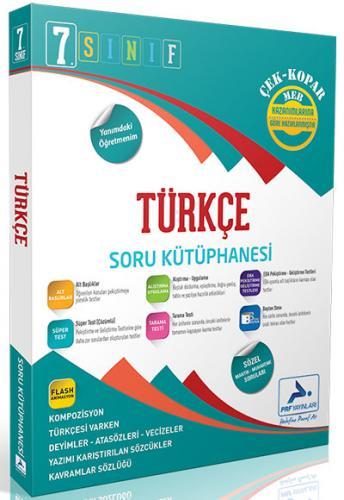 PRF Yayınları 7. Sınıf Türkçe Soru Kütüphanesi