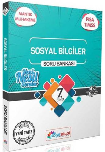 Köşebilgi Yayınları 7. Sınıf Sosyal Bilgiler Soru Bankası
