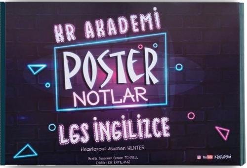 Kr Akademi LGS İngilizce Poster Notlar