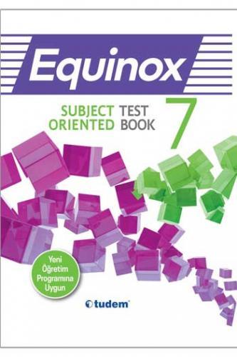 Tudem 7. Sınıf İngilizce Equinox Subject Oriented Test Book