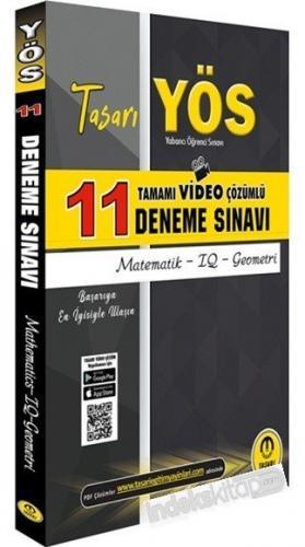 Tasarı Yayınları YÖS Matematik IQ Geometri 11 Deneme Sınavı Video Çözü
